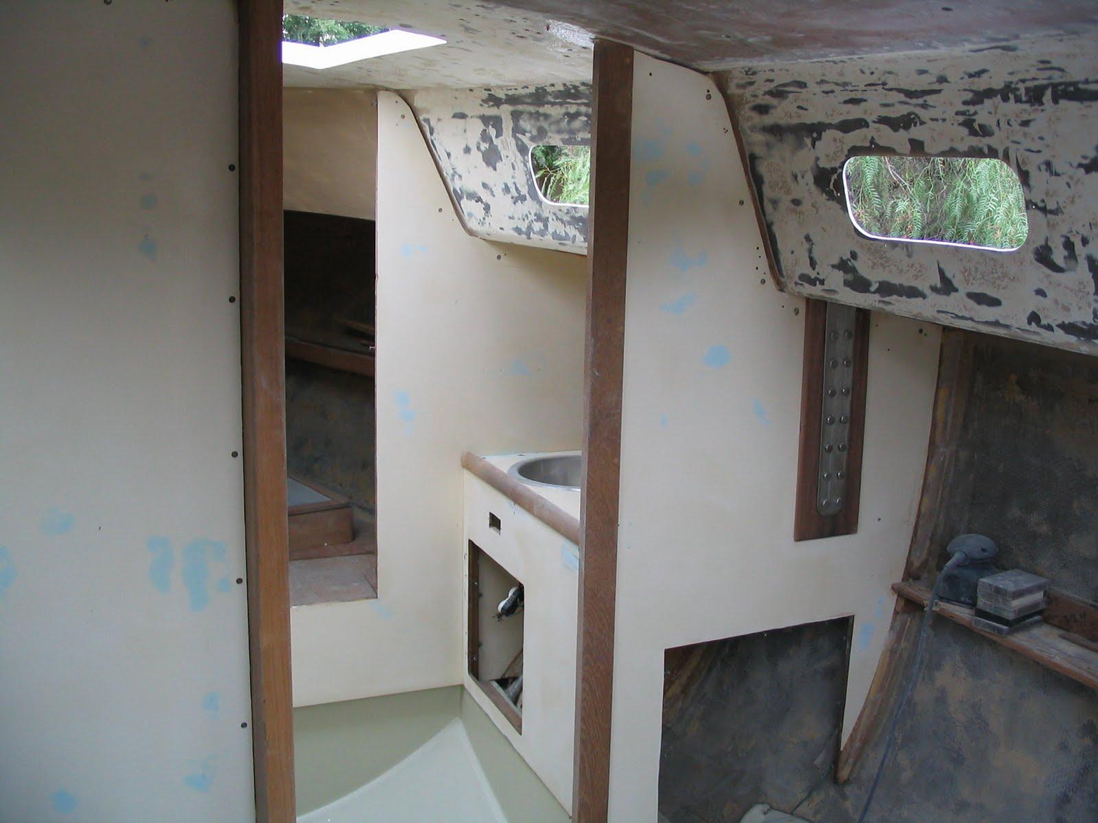 Pocket Cruiser: The interior stripped down