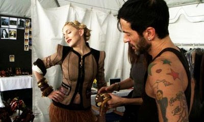 madonna 460x276 MADONNA: Making Of The Louis Vuitton Campaign