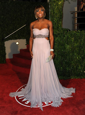 Black Tennis Pro's Serena Williams at 2010 Oscars
