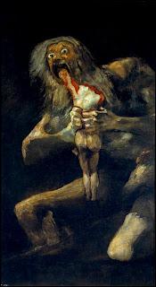 Saturno devorando a sus hijos/Goya