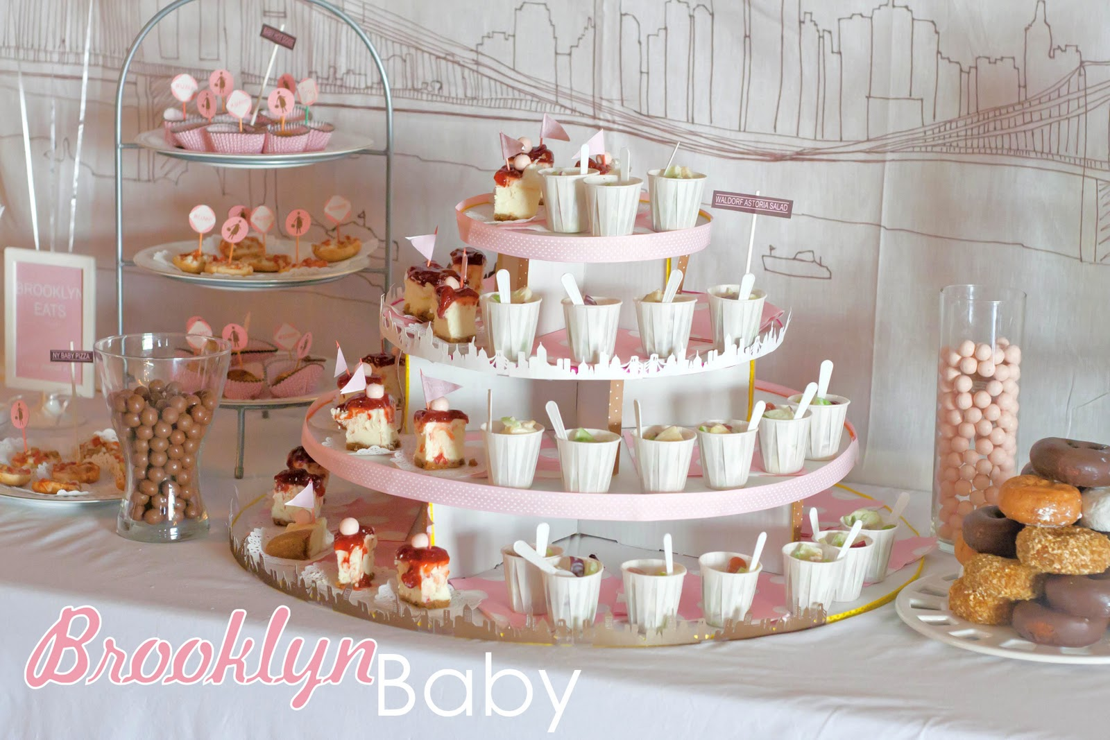 Brooklyn Baby, A unique baby shower - My Insanity