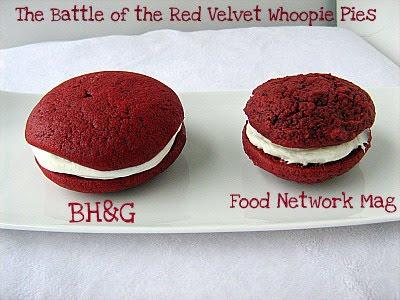 Food Network Red Velvet Whoopie Pies Recipe