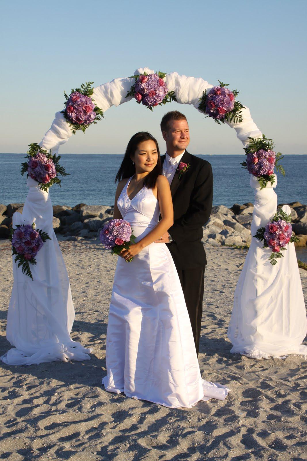 Affordable Beach Weddings 3057934387 Ellie  Scott  John U LLoyd Beach State Park Dania