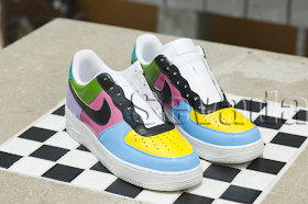 Hand Painted Custom Leather Sneakers Shoes And Accessories By