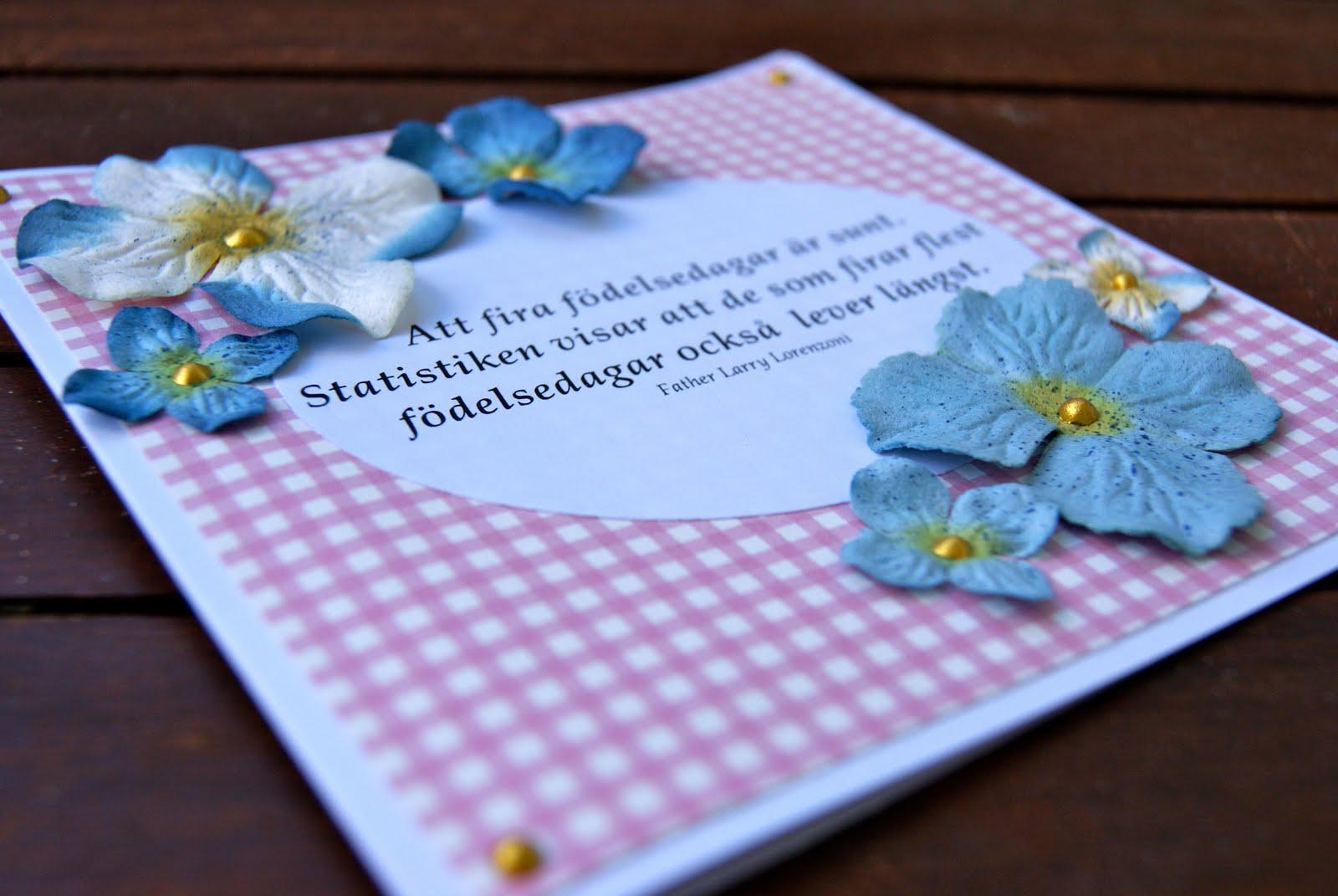 födelsedagskort text FruKrok: Födelsedagskort med text födelsedagskort text