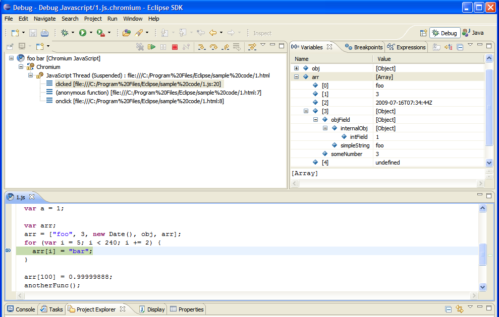 Chromium Blog: Google Chrome Developer Tools for Eclipse Users