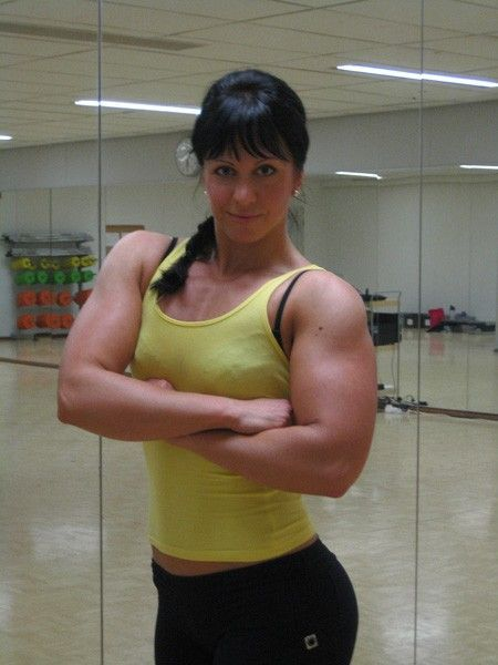 Scary, Sometimes Cute, And Occasionally Sexy - Female Bodybuilders -70 Pics  Curious, Funny -2111
