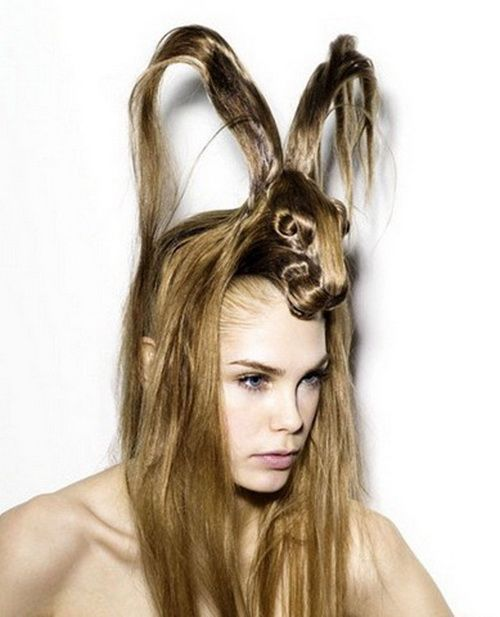 strange and crazy hairstyles