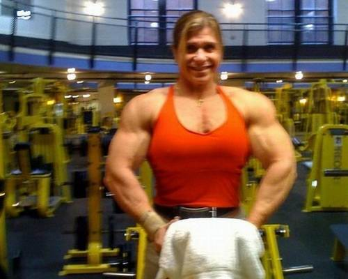 Fun Michelle Brent - Known Among Bodybuilders As Woman -9341