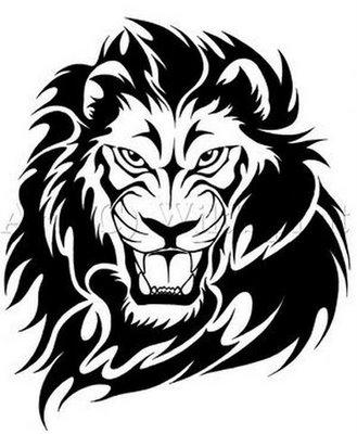 lion tattoo gallery