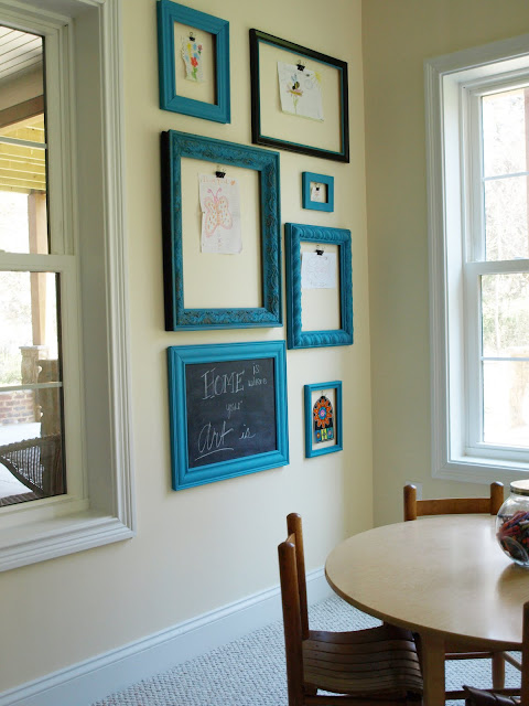 display kids artwork - less than perfect life of bliss