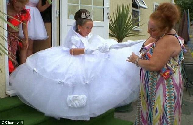 Passion4fashiontz Big Fat Gypsy Wedding Dress