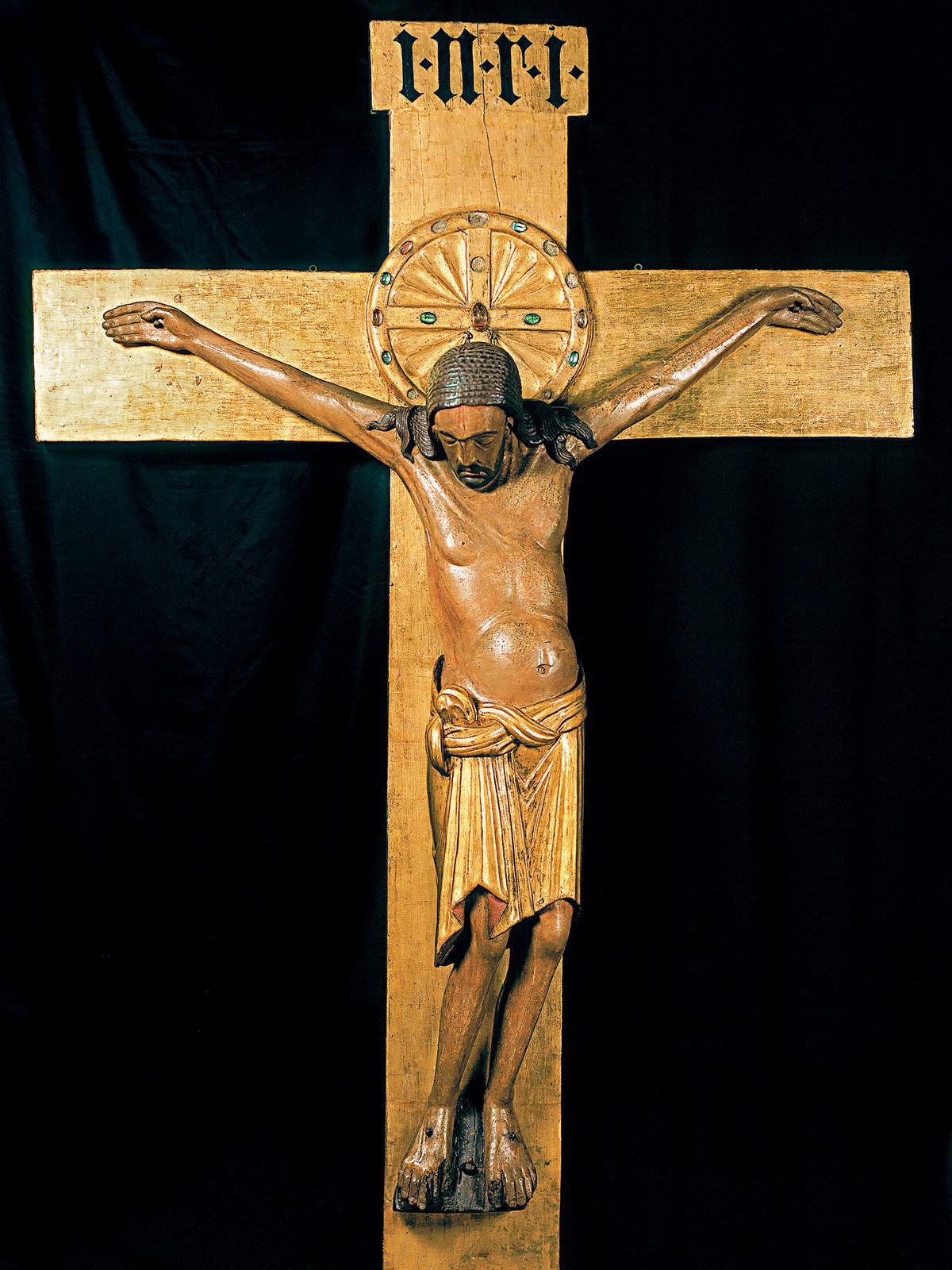 Alberti S Window Crucifix Of Gero Conundrum