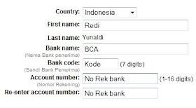 Trik Yuwie Indonesia Cara Transfer Dana Paypal Ke Bank Lokal