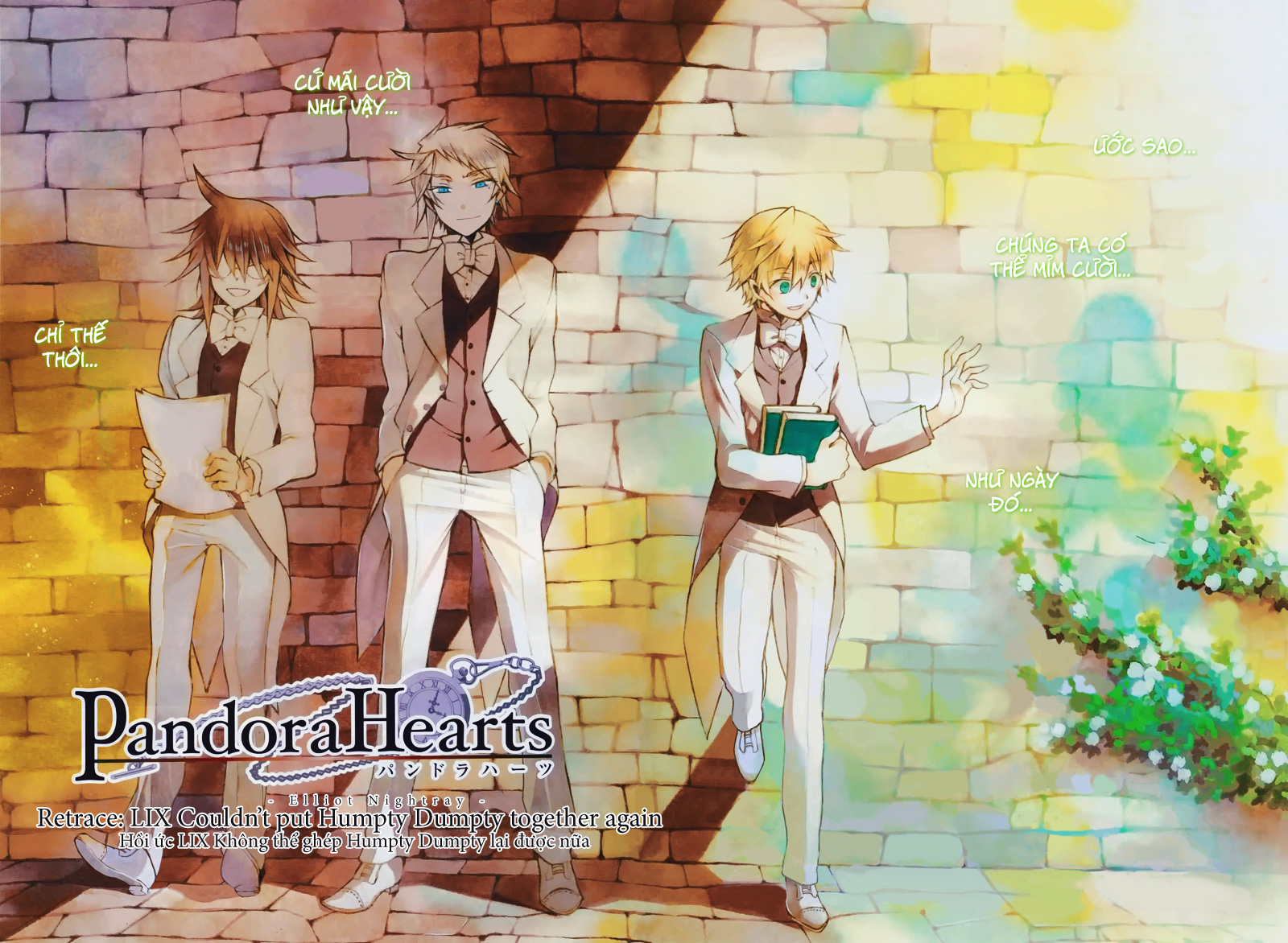 Pandora Hearts chương 059 - retrace: lix couldn't put humpty dumpty together again trang 3