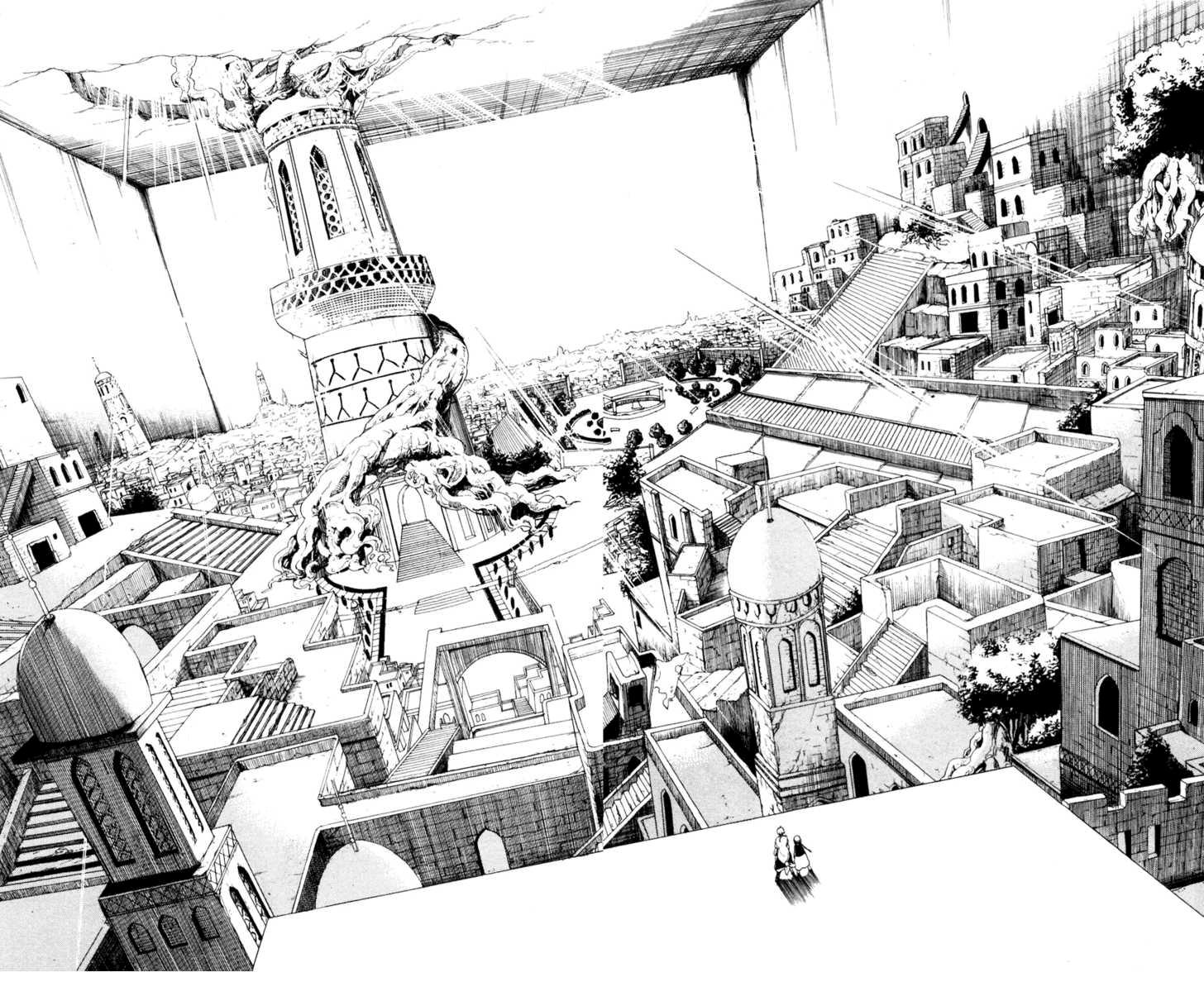 Magi The Labyrinth of magic chapter 11 trang 8
