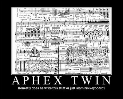 Electronic Music Stuff with Fat Roland: Aphex Twin's new