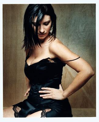 e96142b19 Laura Pausini esteve no Brasil