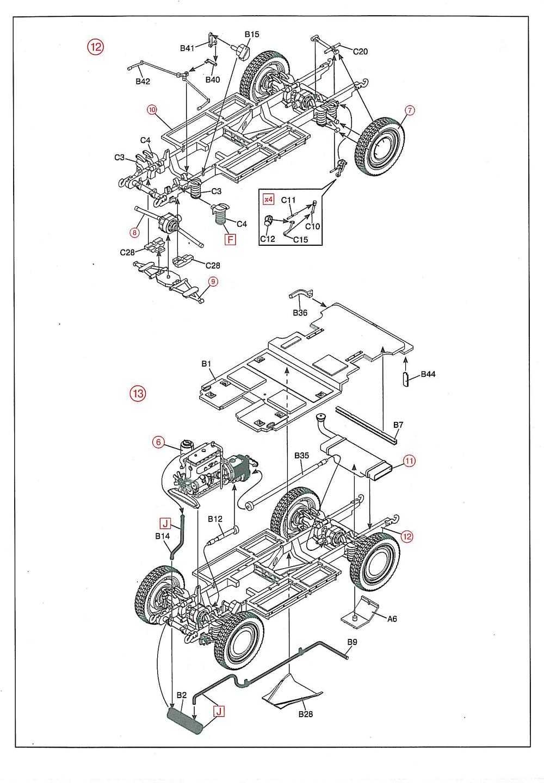 Instruction sheet scanned: