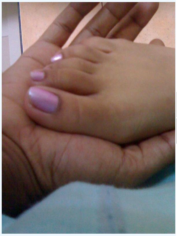 African female fetish foot