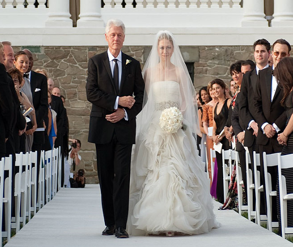 Chelsea Clinton Wedding Gown: Overdose: Chelsea Clinton And Marc Mezvinsky's Wedding