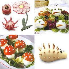 Kitchen Table: Amazing Food Decorations - photo#1