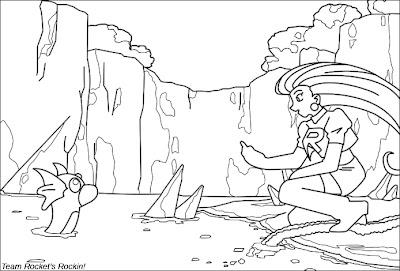 team rocket coloring pages - transmissionpress team rocket pokemon cartoon coloring pages