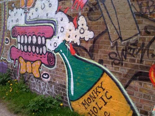 London Graffiti Tags Street Art Design Ideas