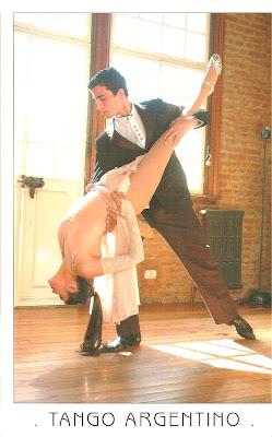 tango argentino - inspiração para a arquitetura da Ponte da Mulher.