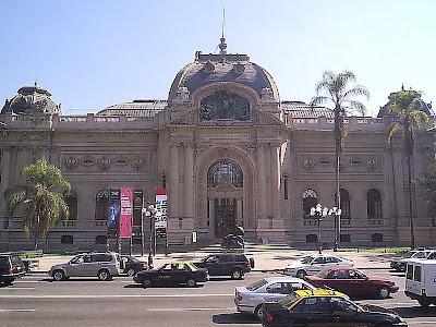 Museu de arte em Santiago do Chile