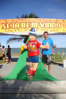 Barraca de praia em Porto Seguro - Bahia