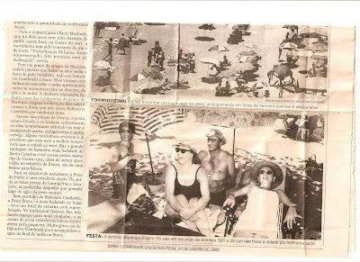 Recorte de jornal do Diário Catarinense
