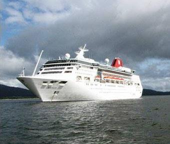 Navio Empress, em 2011