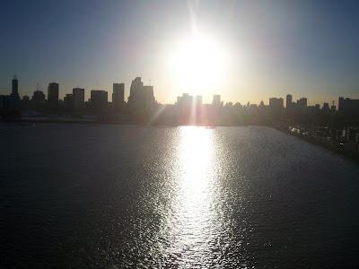 Entardecer em Buenos Aires - Argentina