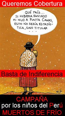 Por los niños del Peru