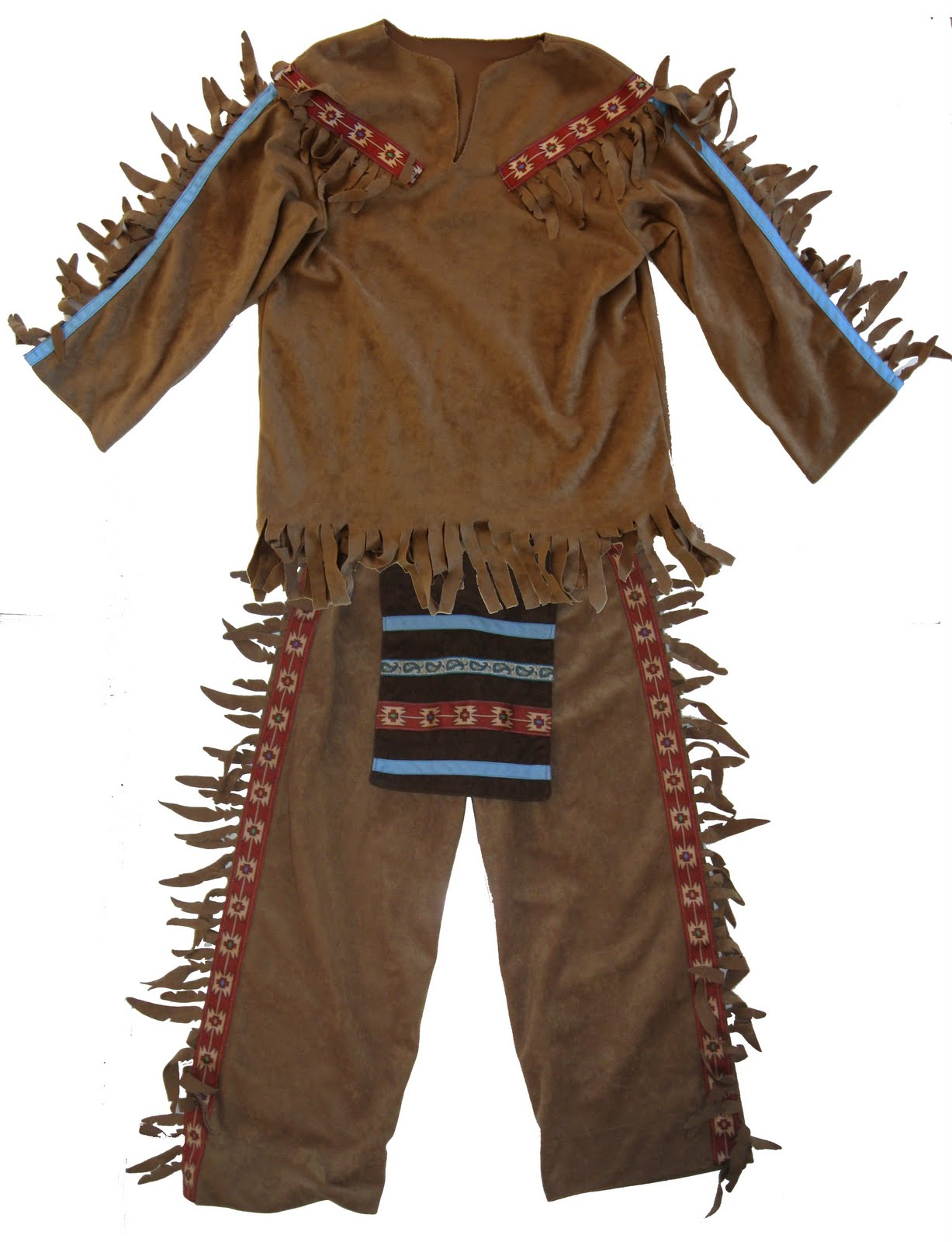 Mens Native American Costume Sc 1 St Funtober
