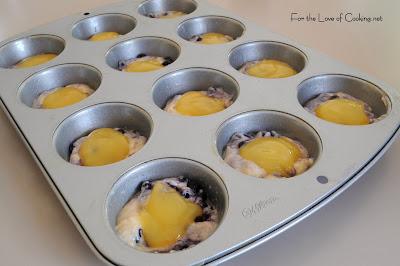 Blueberry Lemon Surprise Muffins