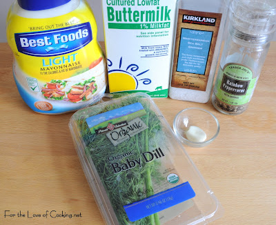 Low Fat Buttermilk Dill Dressing