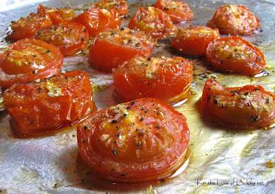 Roasted Tomatoes with Cotija Cheese and Cilantro