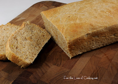 Marjie's Cool Rise Honey Lemon Wheat Bread