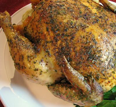Lemon and Tarragon Roasted Chicken