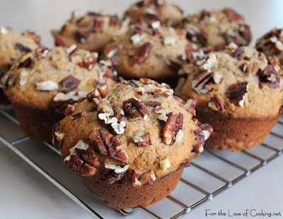 Brown Sugar and Banana Muffins with Pecans