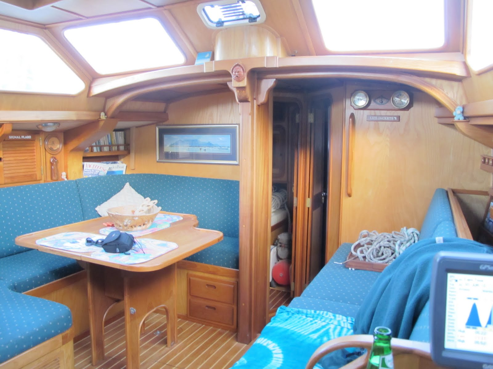 We have had at least two enquiries to yacht interior veneers and finishes this weekif its not for a slap of white paint and needle punch carpet you want ... & CKD Boats - Roy Mc Bride: Yacht interior mouldings and finishes