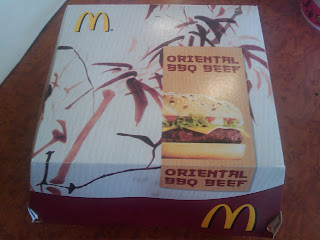 McDonalds Oriental BBQ Beef