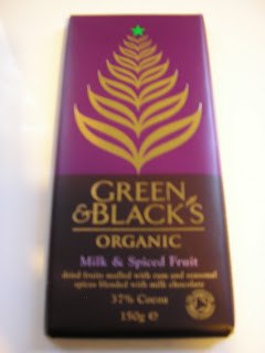 Green & Blacks: Milk & Spiced Fruit