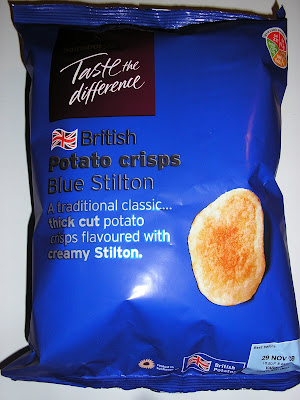 Taste The Difference Blue Stilton Crisps