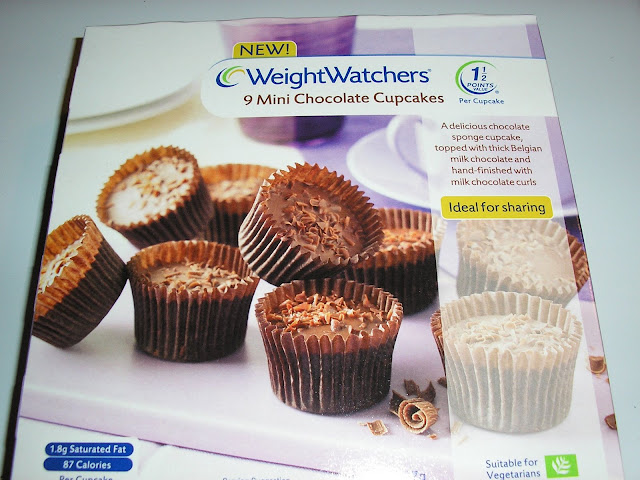 Weight Watchers Mini Chocolate Cup Cakes
