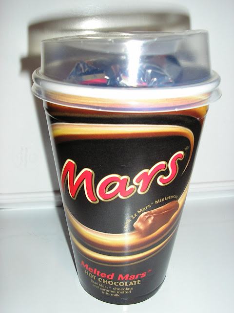 Melting Mars Hot Chocolate