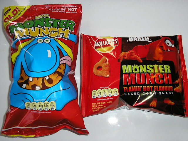 Monster Munch - Flaming Hot Edition