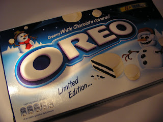 Foodstuff Finds Oreo White Chocolate Covered Limited